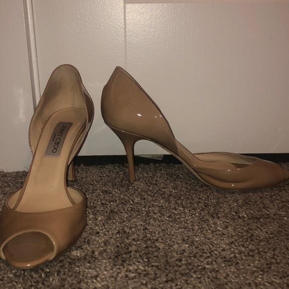 Jimmy Choo Shoes - Jimmy choo nude heels